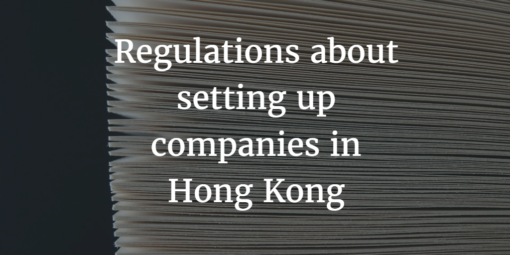 Company formation regulations