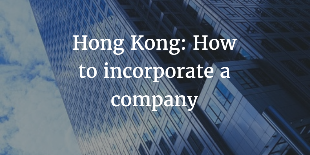 How to incorporate in HK
